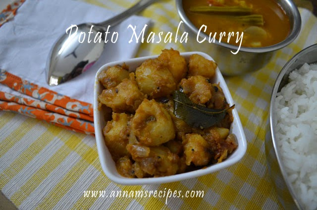 Potato Masala Curry