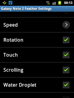Live Wallpaper Setting For Samsung Galaxy Y And Qvga Phones