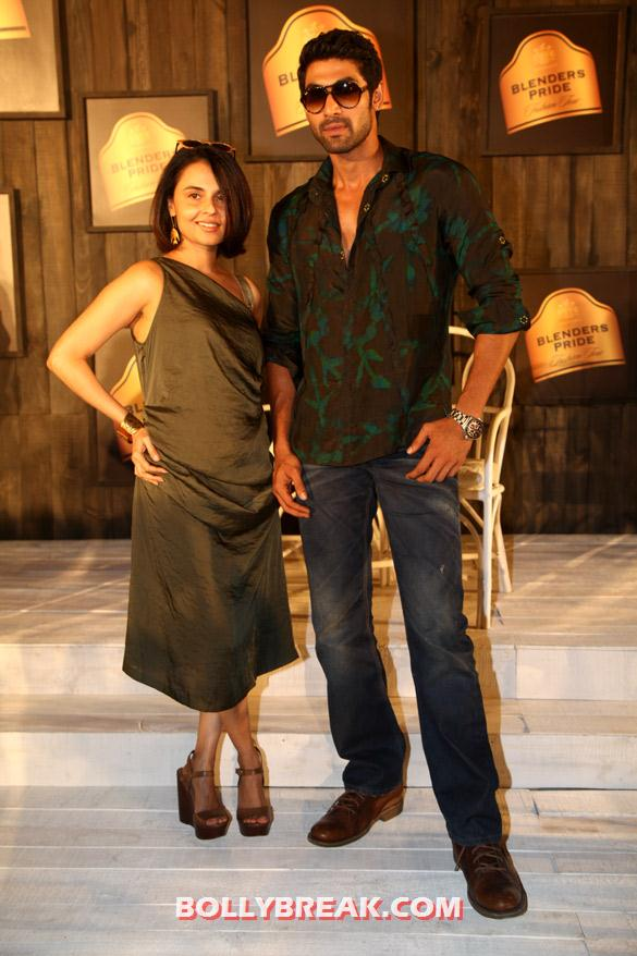 Asmita Marwah, Rana Daggubati - (11) - Seagram's Blenders Pride Fashion Tour 2012 Photos