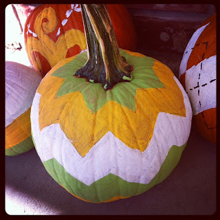 diy painted pumpkins