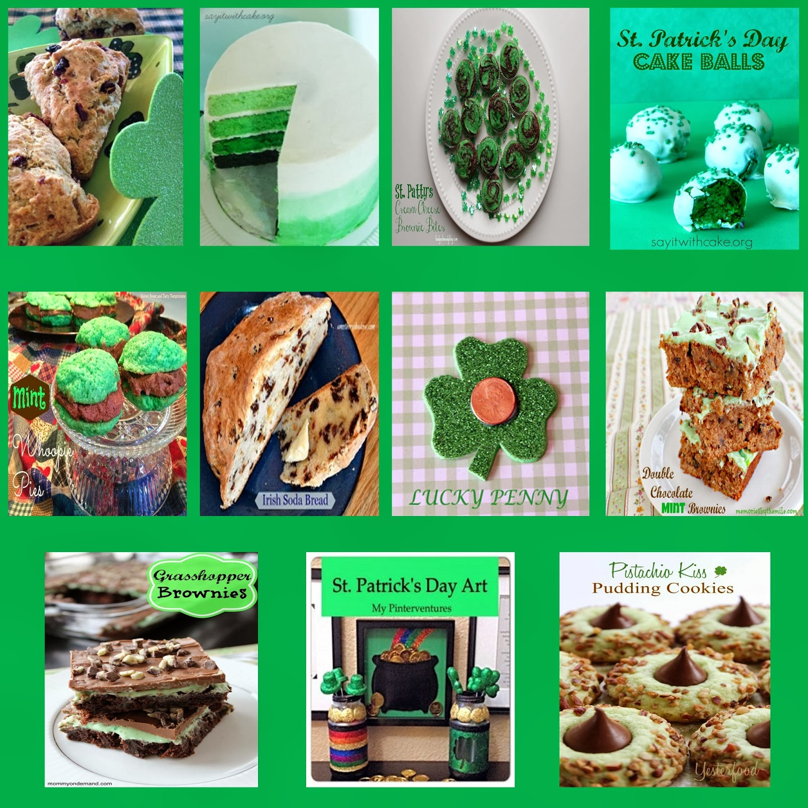 Four Seasons Blog Hop - St. Patrick's Day Collection