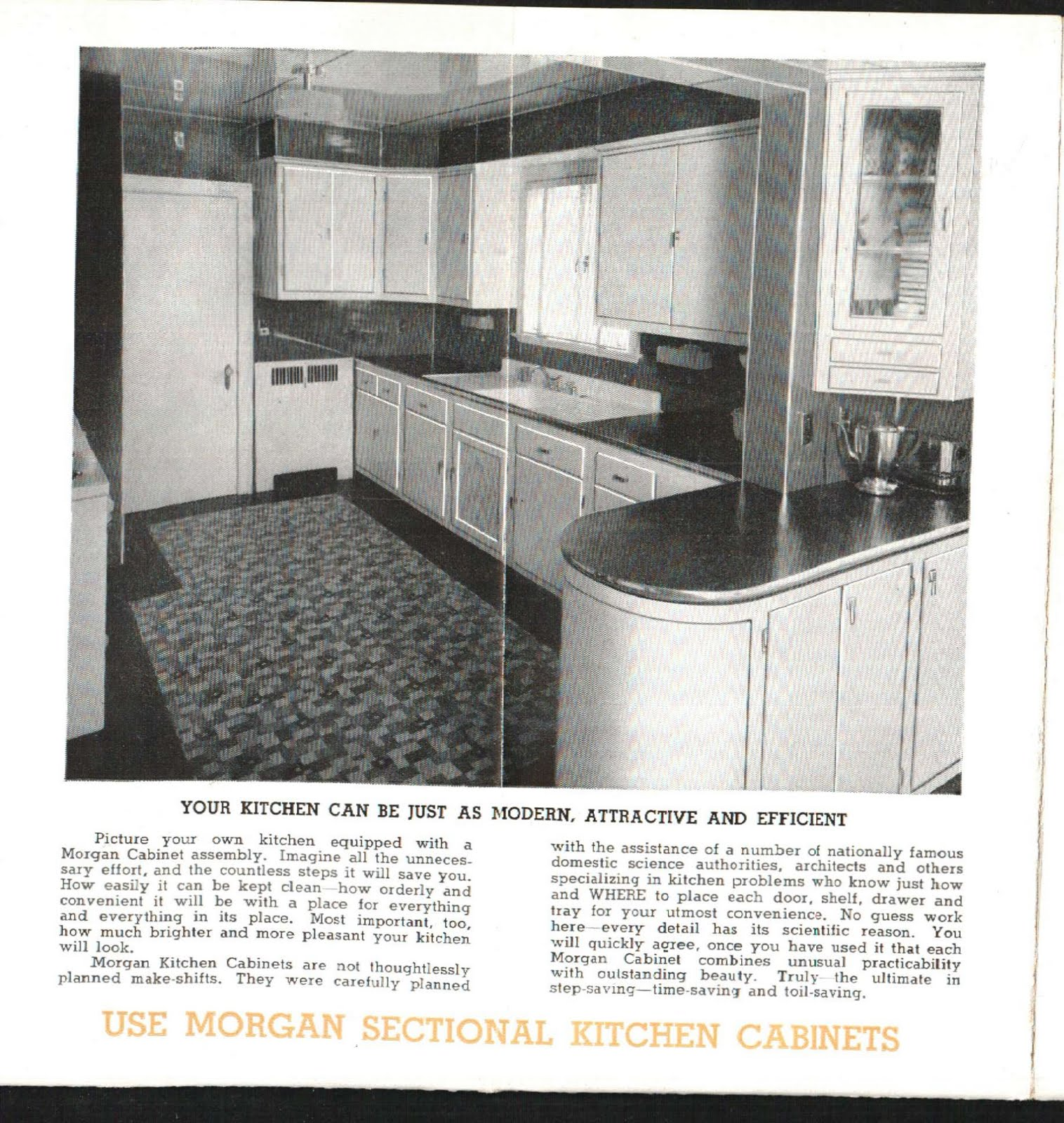 These Are Some Beautiful Kitchen Cabinets From The 1938 Circular. The  Wonderful Thing About These Cabinets Is That Many Still Exist Attesting To  The ...