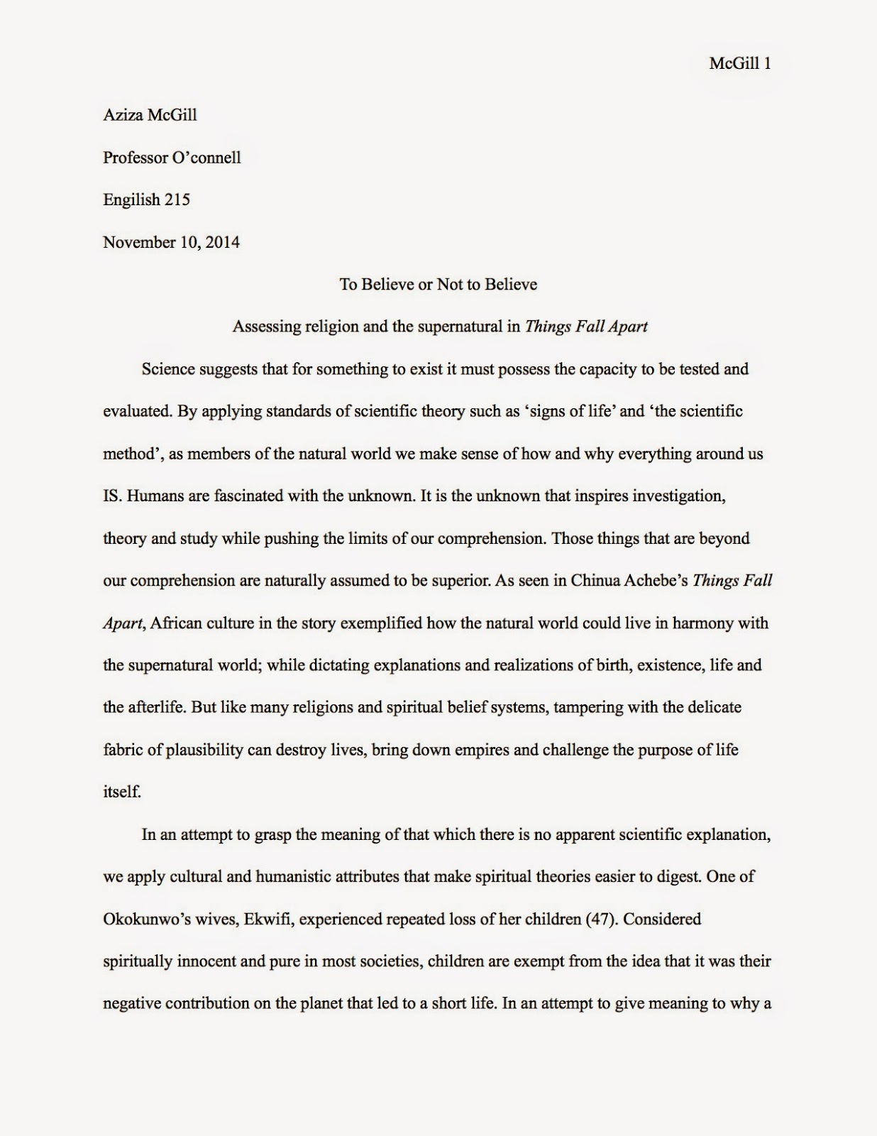 things fall apart essay questions the question for this essay based on chinue achebe s things fall apart was to analyze