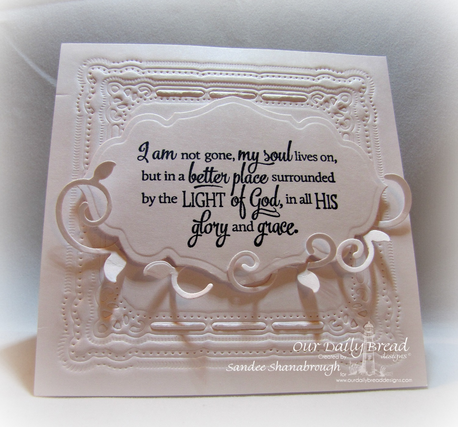 Stamps  - Our Daily Bread Designs Sentiment Collection 3, ODBD Custom Antique Labels & Border Dies, ODBD Custom Fancy Foliage Die
