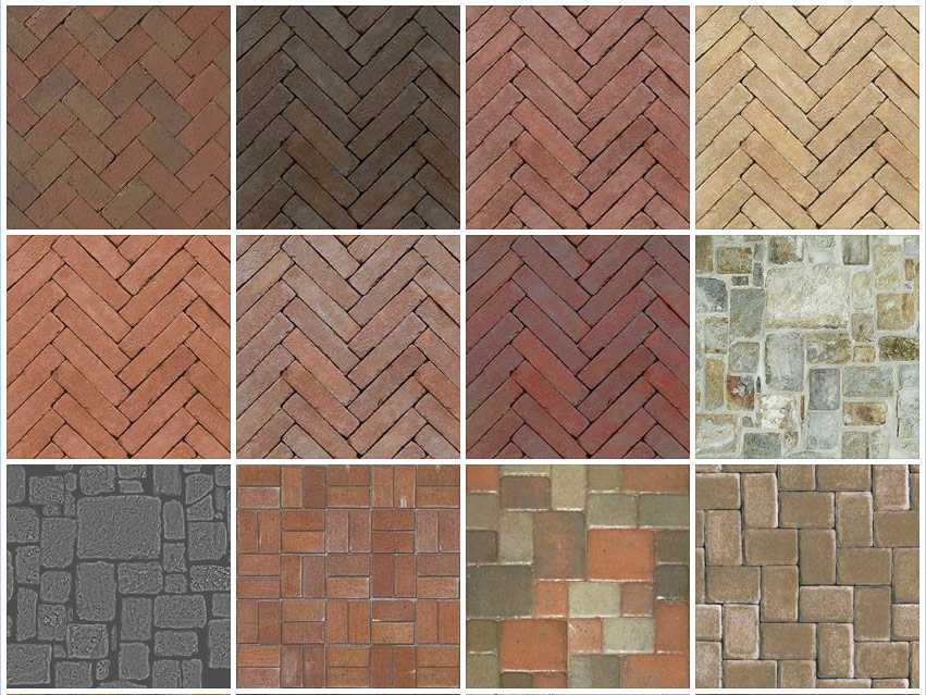 SKETCHUP TEXTURE: UPDATE SEAMLESS TEXTURE PAVING-STONE