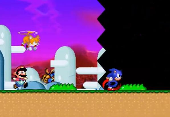 Bila Karakter-karakter Video Game Klasik Lomba Lari [Video