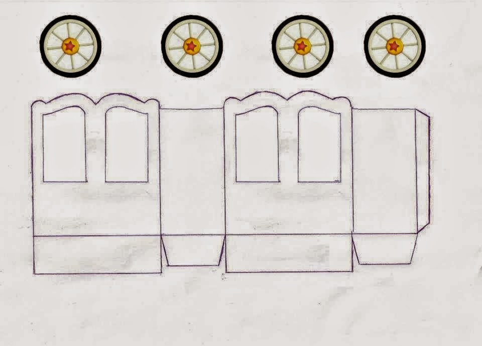 Cajas con forma de Carroza o Carruaje