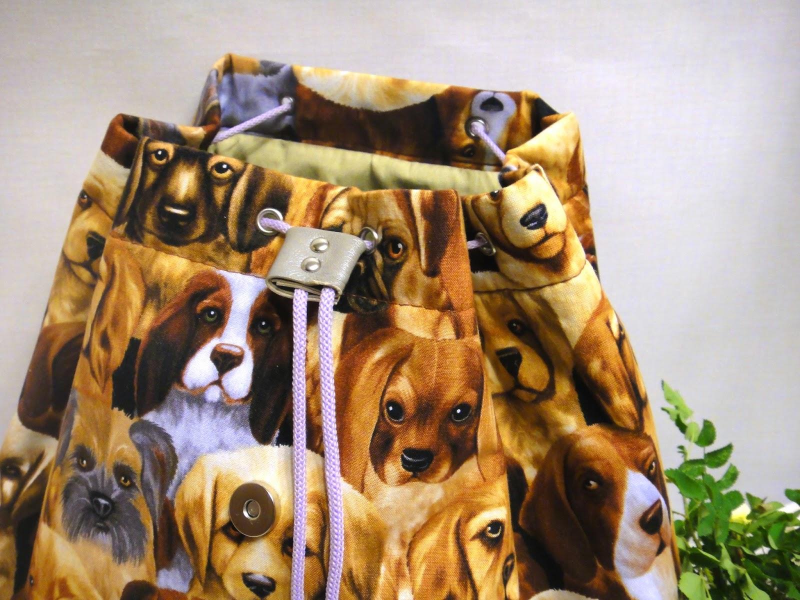 Детский рюкзак с собачками