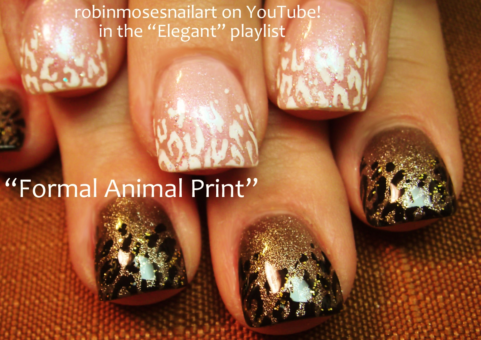 Robin moses nail art leopard print nails design tutorials fall animal print nail art playlist easy nail art tutorials diy zebra leopard tiger nail designs prinsesfo Images