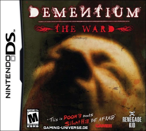 Dementiun game nds rom cover