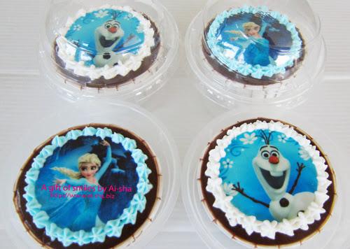 Cupcake Edible Image Frozen