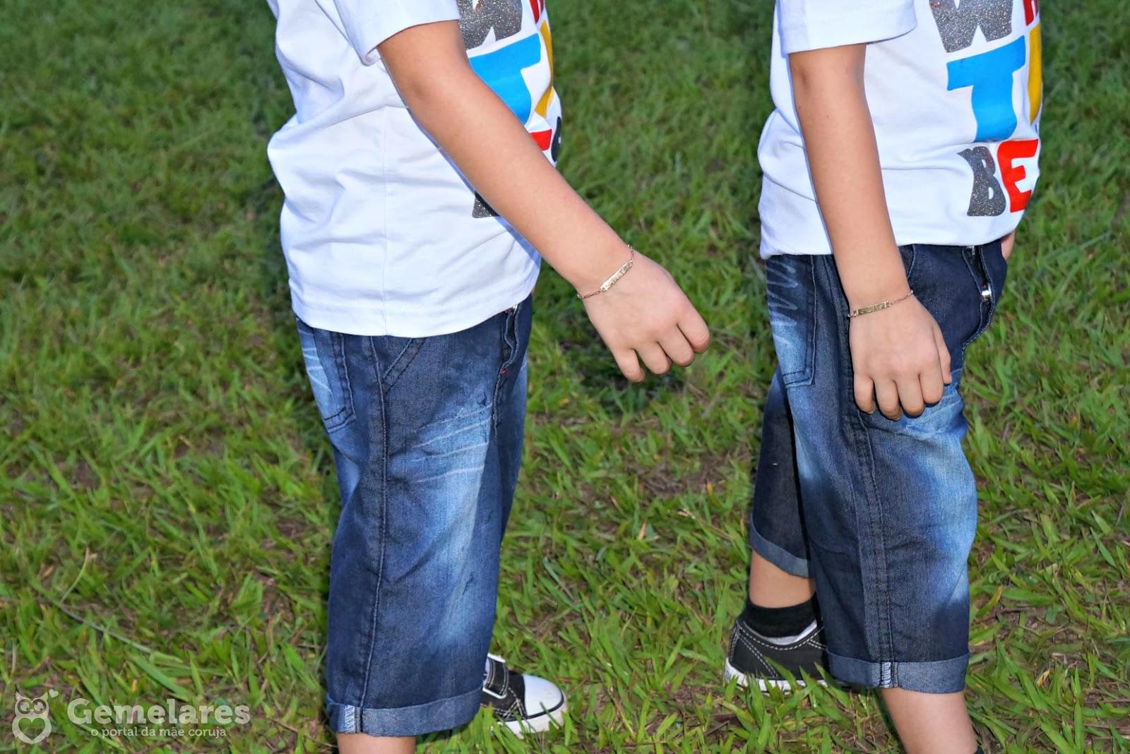 Roupas iguais para gêmeos - Provador Kids
