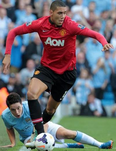 Chris Smalling Manchester United Defender 2014