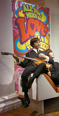 London - The Beatles - Madame Tussauds Museum