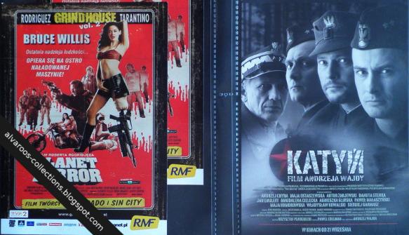 movie flyers - Planet Terror, Katyń