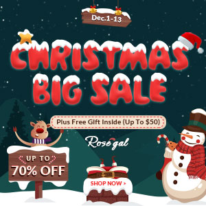 Christmas Big Sale Rosegal