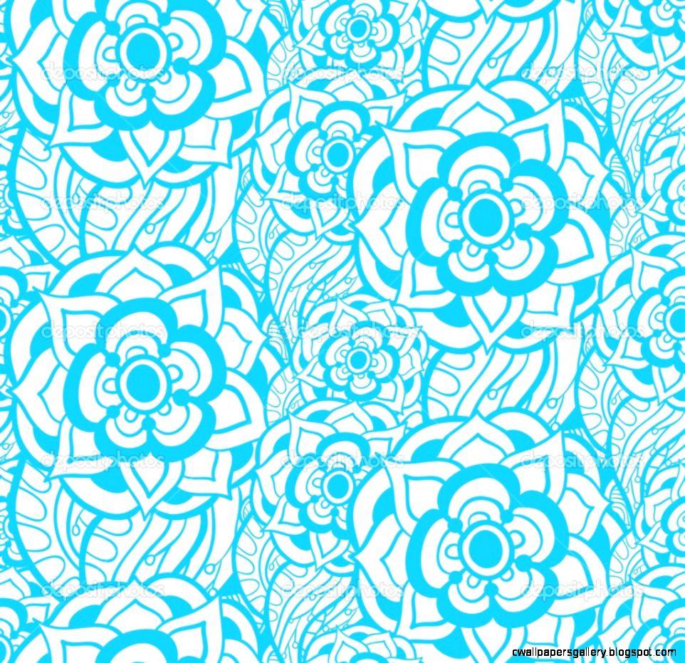 Vintage fl seamless pattern Vector — Stock Vector © dedron