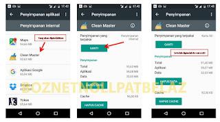 hasil Cara memindahkan aplikasi ke microSD pada android 6.0.1 tanpa root