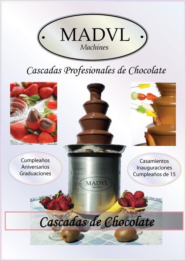 Cascadas de Chocolate MADVL