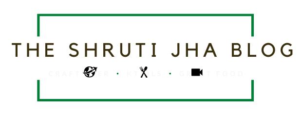 The Shruti Jha Blog