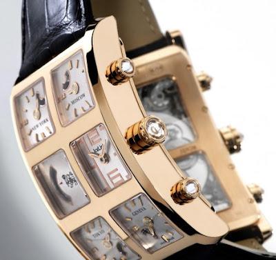 Копии наручных часов швейцарских брендов. Креативные часы фото.