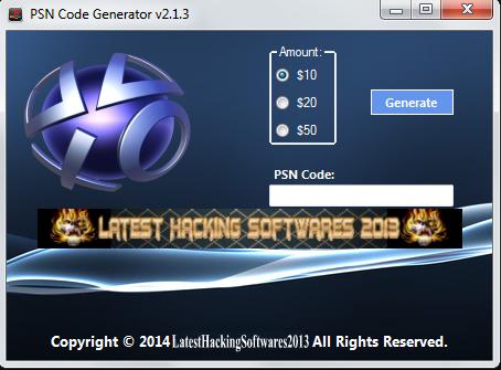 Free Playstation Network Card Codes Generator Download - playstation