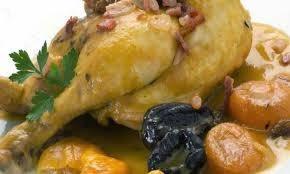 Pollo al Champan
