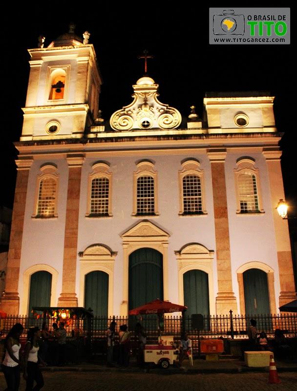 Igreja de São Pedro dos Clérigos no Centro Histórico de Salvador, na Bahia - Por Tito Garcez em 2013