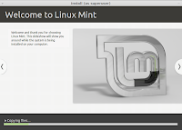Welcome to Linux Mint