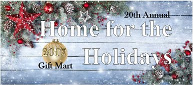 Home for the Holidays Gift Mart is Nov. 25 at Rozsa