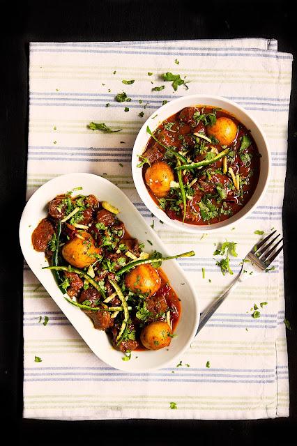 kata moslar mangsho recipe kata moslar gosht curry recipe
