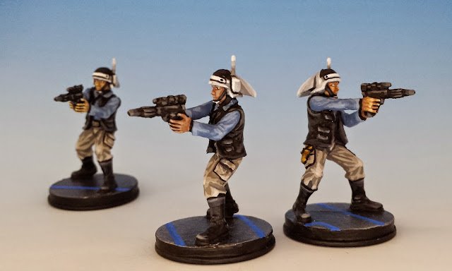 Rebel Troopers, Fantasy Flight Games (2014, sculpted by Benjamin Maillet, painted by M. Sullivan)