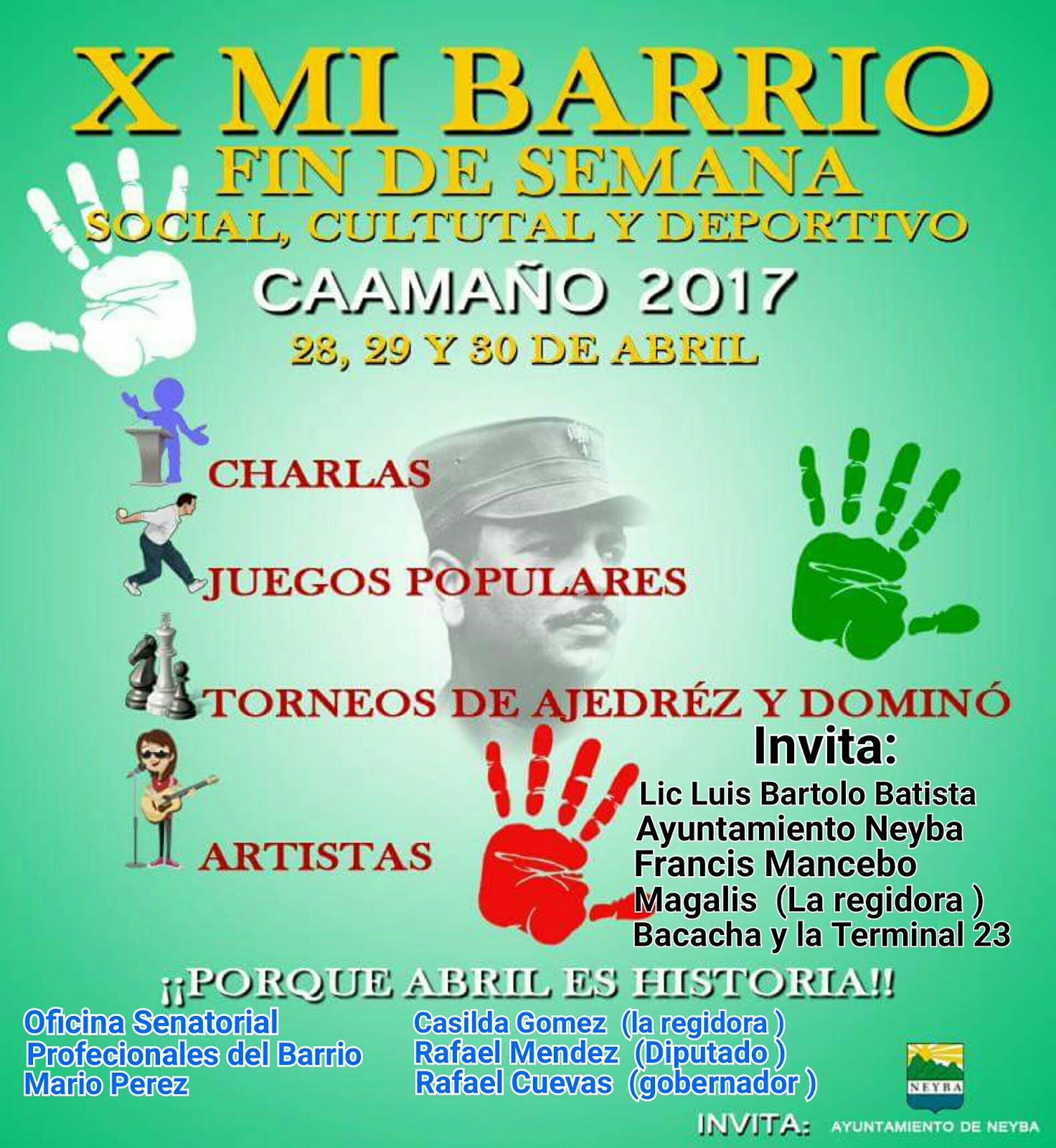 X MI BARRIO Caamaño 2017
