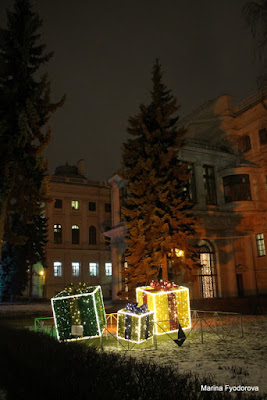 St Pétersbourg, St Pétersbourg de Noël,