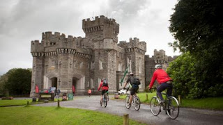 Wray castle by bike