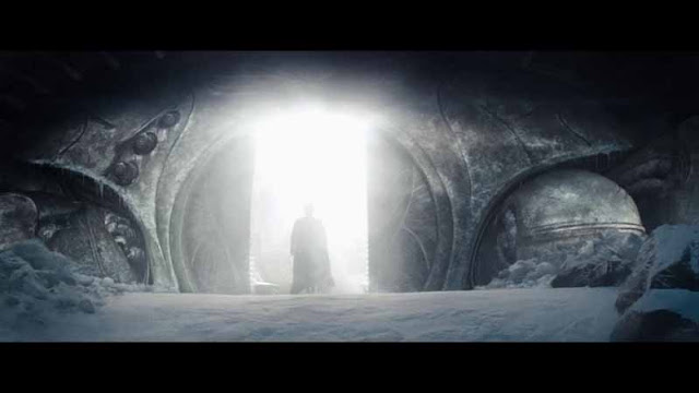 man of steel superman fortress of solitude