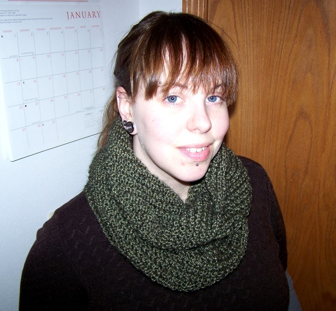 Transverse Cowl Knitting Pattern : Knitting Pattern: Transverse Cowl Bona Fide Boho
