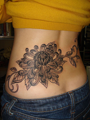 Cool Lower Back Tattoos For Girls