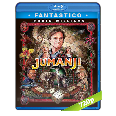 Jumanji (1995) BRRip 720p Audio Trial Latino-Castellano-Ingles 5.1