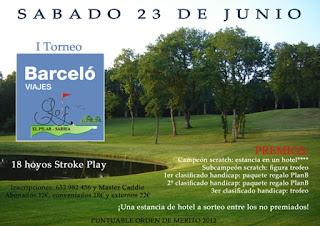 el Pilar Sarria Pitch Putt I Torneo Barcelo Hoteles