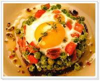Huevos con verduras, recetas de cocina, recetario