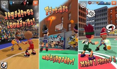 Swipe Basketball 2 v1.1.6 Apk + Datos SD Mod [Dinero ilimitado]