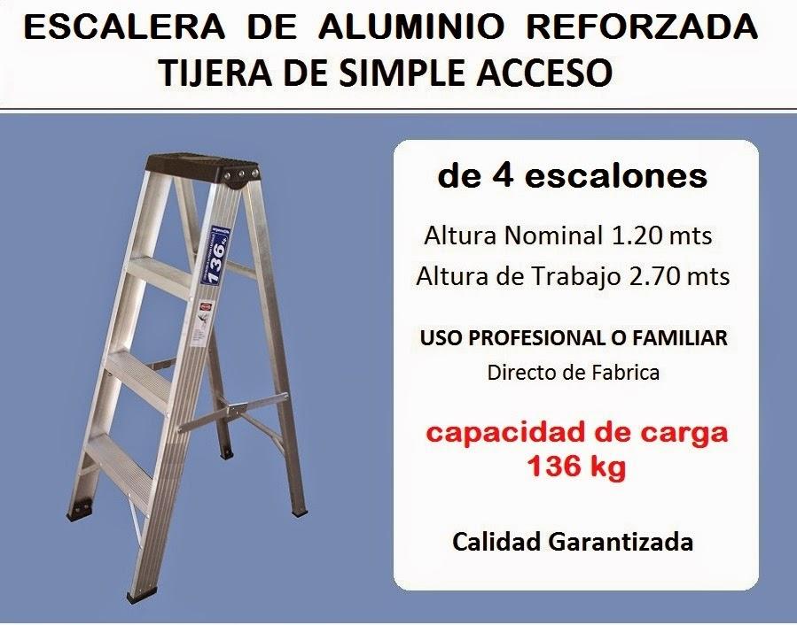 Escaleras monte castro escaleras aluminio reforzadas for Fabrica escaleras aluminio