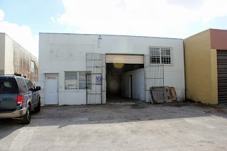 street-level industrial warehouse in Hialeah, Florida