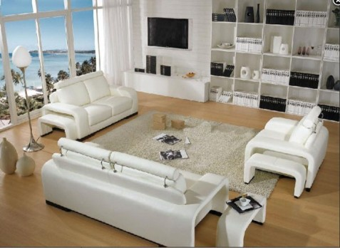 Best types of modern fabric sofa sets for Types of living room furniture