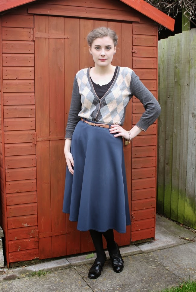 1940s style outfit via lovebirds vintage