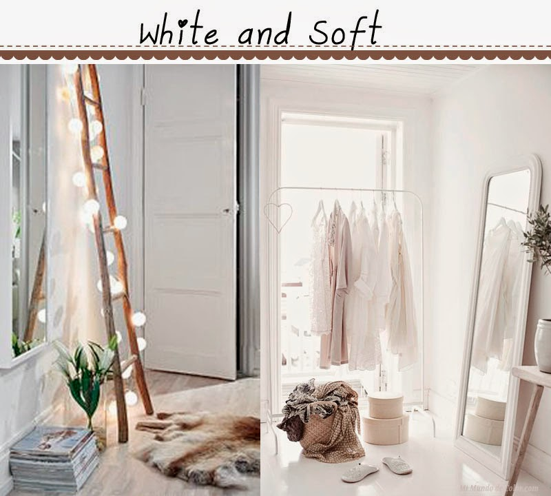white deco: rooms: soft