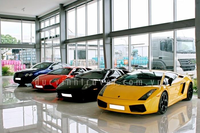 Cho thuê siêu xe Lamborghini trưng bày sự kiện, đám cưới 1