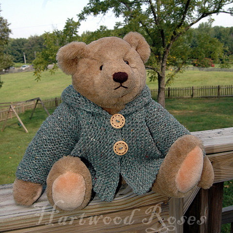 FREE KNITTING PATTERNS TEDDY BEAR SWEATER   KNITTING PATTERN