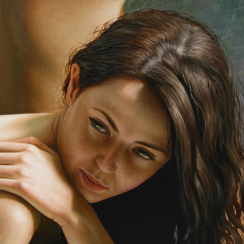 Retratos de mujeres bellas en la pintura